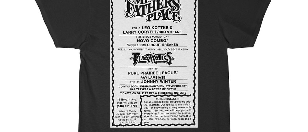 Plasmatics early concert flyer Men's Short Sleeve Tee