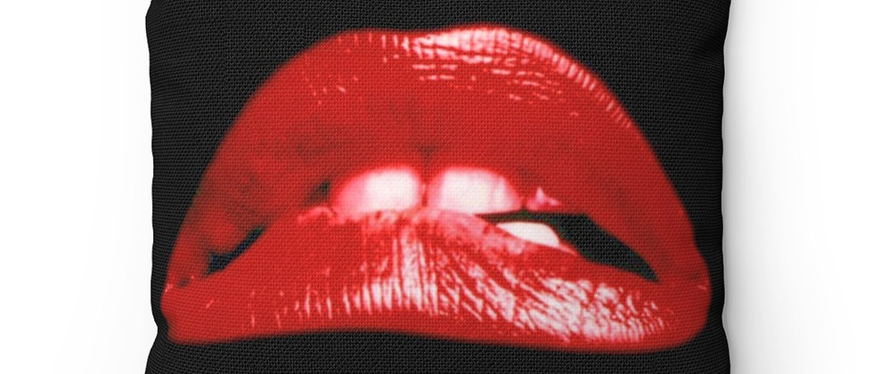 The Rocky Horror Picture Show Lips Pillow Spun Polyester Square Pillow gift