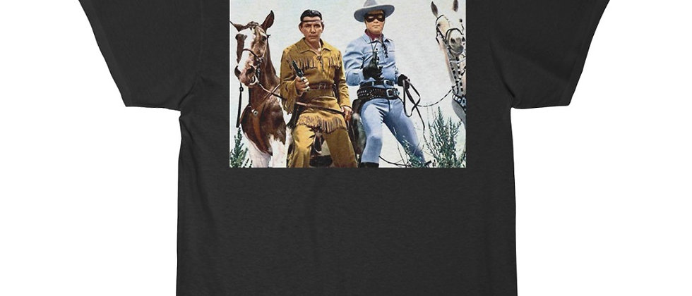 Lone Ranger and Tonto Men's Short Sleeve Tee