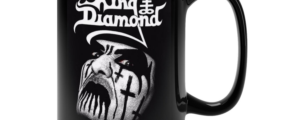 King Diamond  Black Mug 15oz
