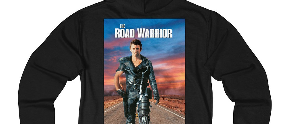 The Road Warrior Max Unisex French Terry Zip Hoodie
