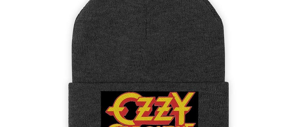 Ozzy Osbourne Logo  Knit Beanie