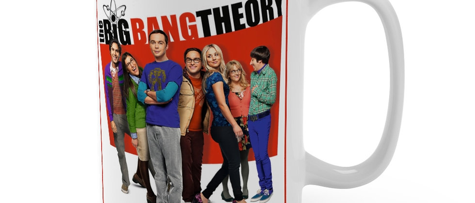 The Big Bang Theory cast Mug 15oz