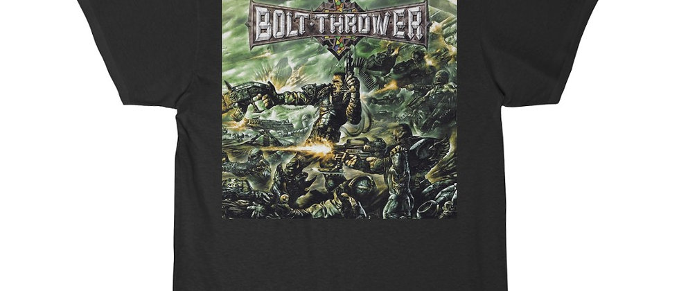 Bolt Thrower Honor Valor Pride cover Special 2 sided Short Sleeve Tee