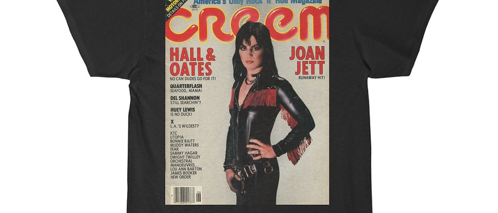Joan Jett on Cream Magazine Men's Short Sleeve Tee