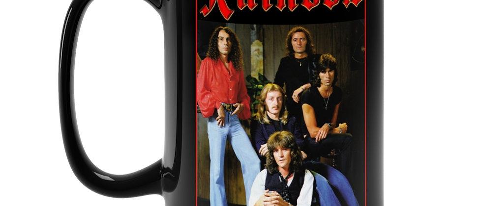 RAINBOW Blackmore and Dio Black Mug 15oz