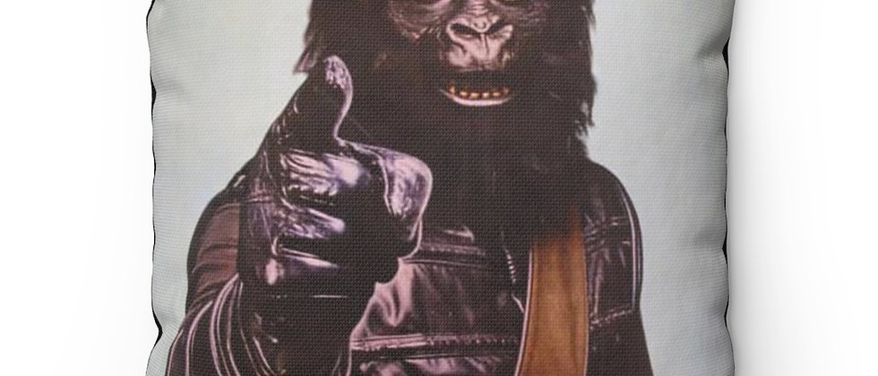 Planet Of The Apes Go Ape Mego Ad Pillow Spun Polyester Square Pillow gift