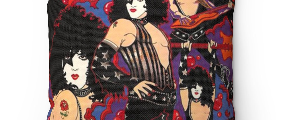 KISS, PAUL STANLEY, SOLO POSTER, PILLOW, END OF THE ROAD