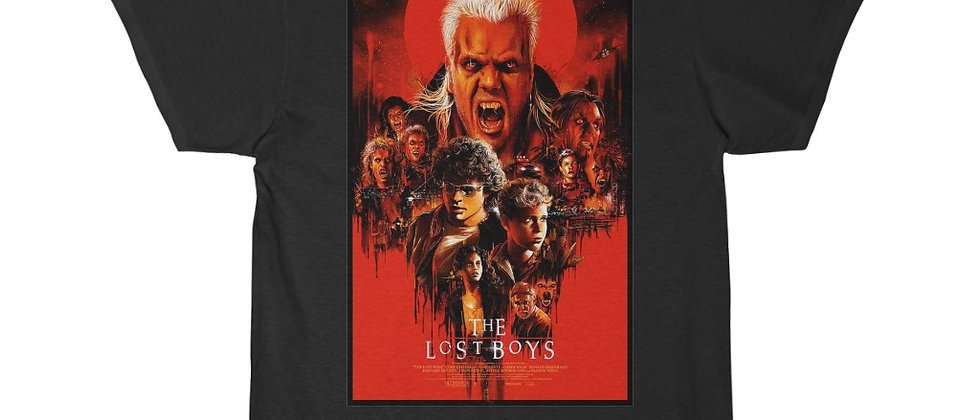 The Lost Boys Red Poster Short Sleeve Tee