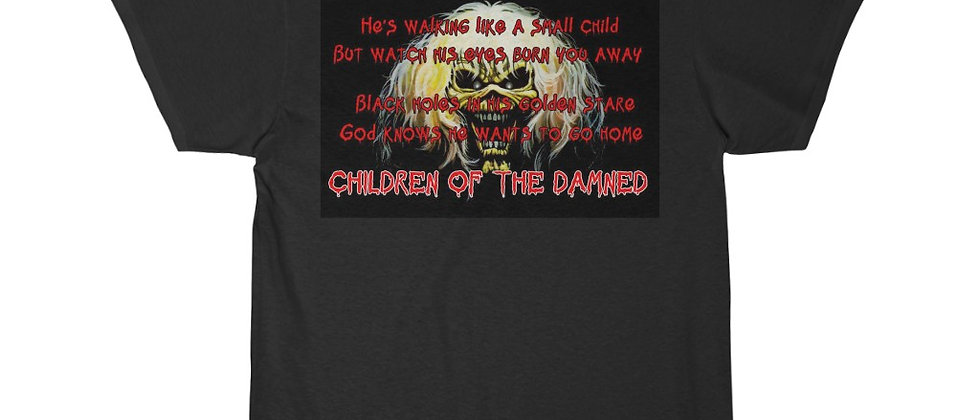 IRON MAIDEN Children of the Damned Show Flyer Sleeve Tee
