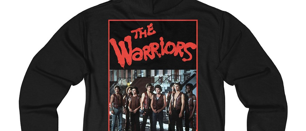 The Warriors Unisex French Terry Zip Hoodie