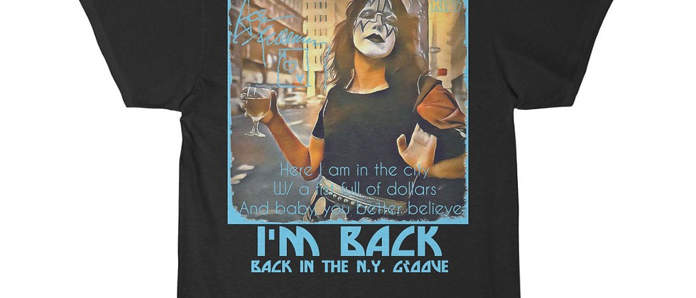 KISS Ace Frehley Back in the NY Groove Short Sleeve Tee