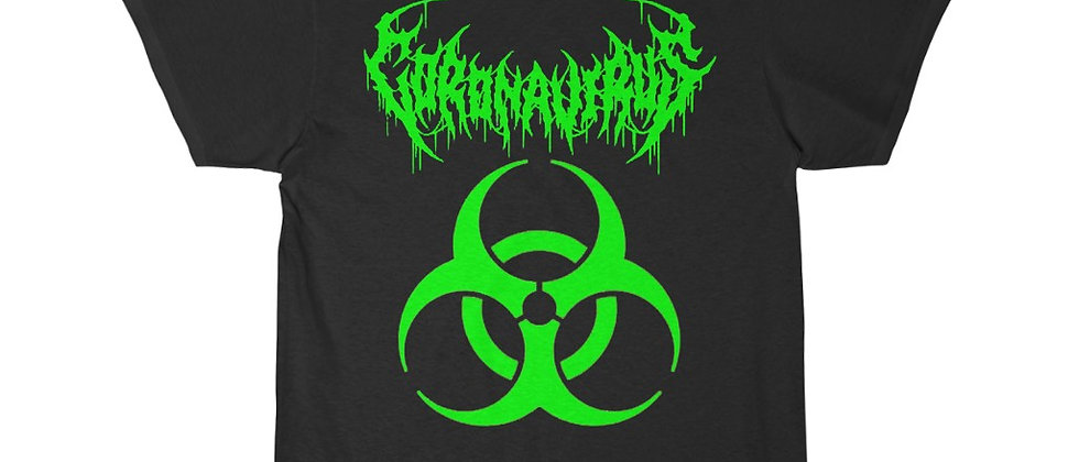What if the Corona Virus was a METAL BAND  Short Sleeve Tee