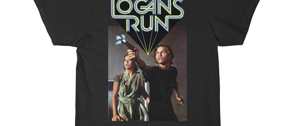 Logan's Run Logan and Jessica 6  Men's Short Sleeve Tee