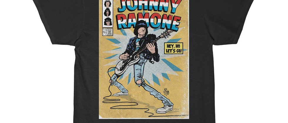 The Amazing Johnny Ramone of The Ramones Men's Short Sleeve T Shirt