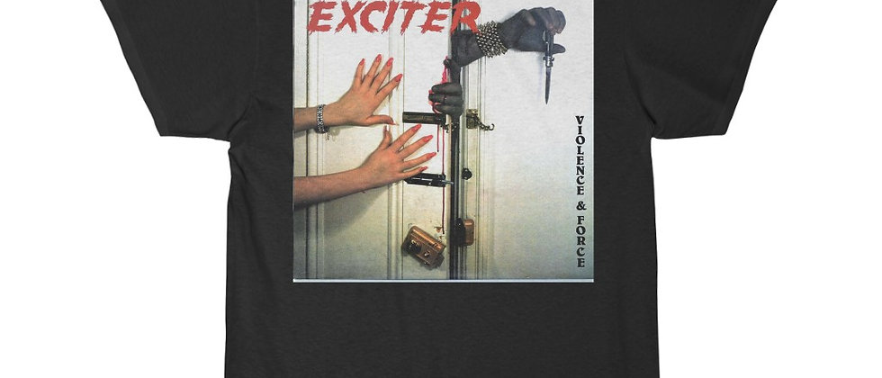 EXCITER Violence and Force Men's Short Sleeve T Shirt