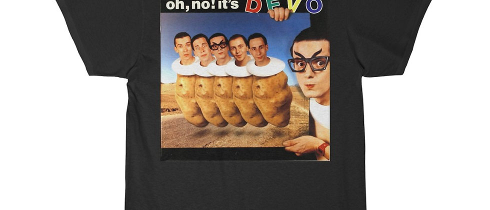 DEVO Oh No It's Devo Men's Short Sleeve T Shirt