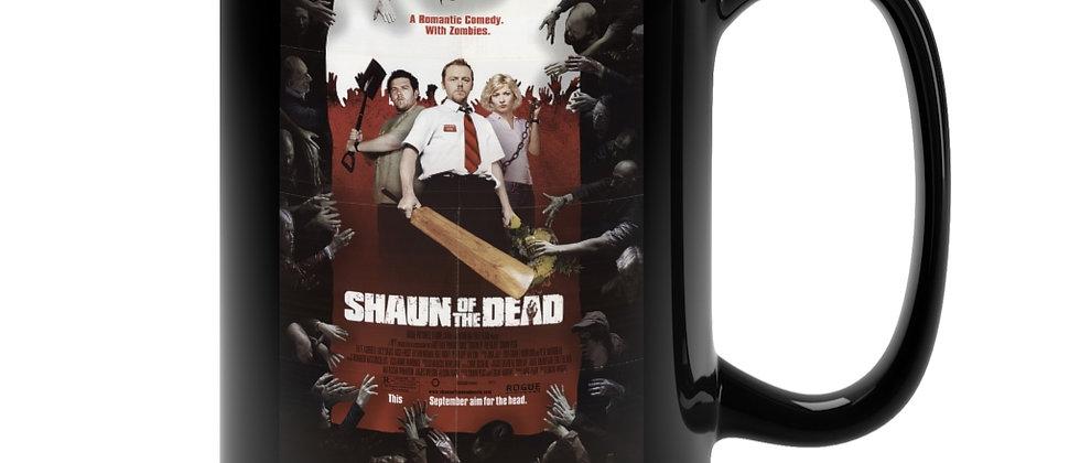 Shaun Of The  Dead Poster  Black Mug 15oz