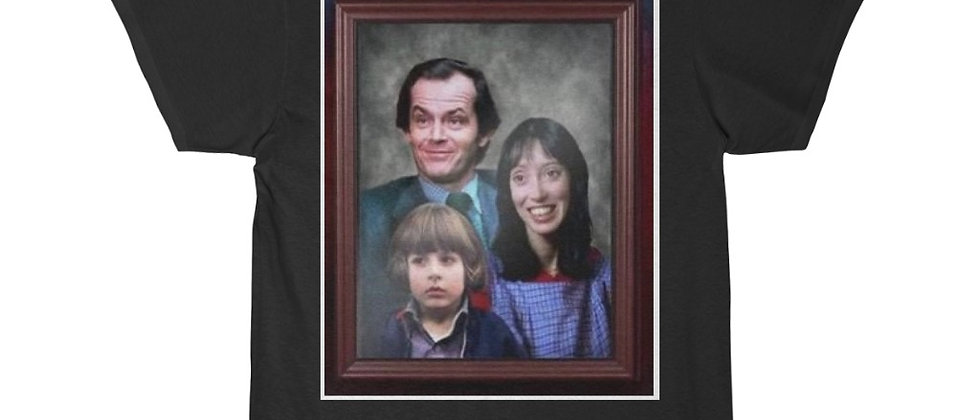 The Torrance Family Jack Wendy, and Danny The Shining Movie Short Sleeve Tee