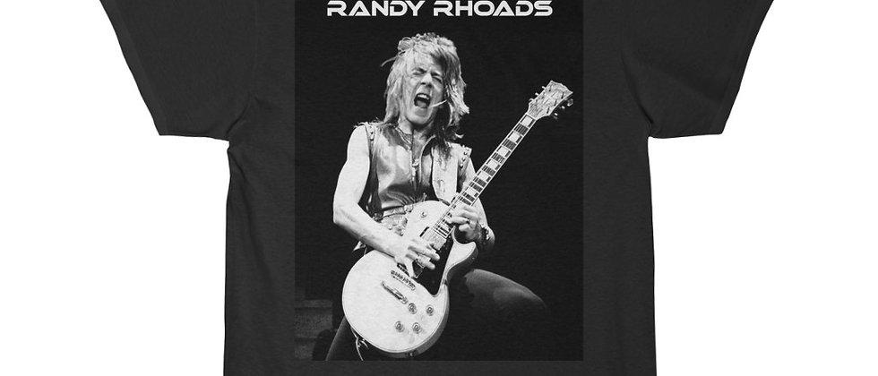 Randy Rhoads LP B&W  Men's Short Sleeve T Shirt