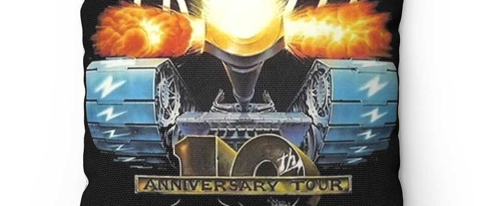 KISS, PAUL STANLEY, PILLOW, GENE SIMMONS, ACE FREHLEY, PETER CRISS,TANK, 1983, CREAURES OF THE NIGHT. 10TH R, END OF THE ROAD