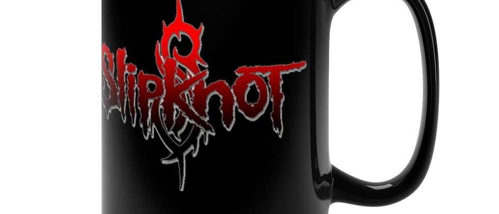 SLIPKNOT logo   Black Mug 15oz