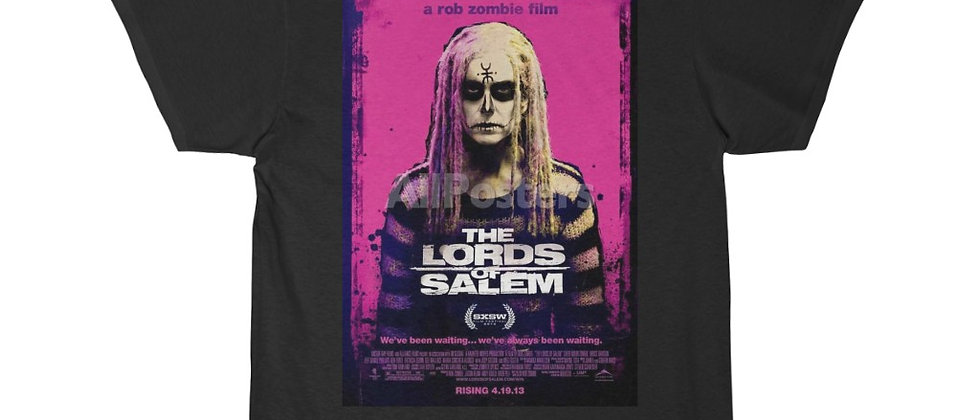 The Lords Of Salem Poster Short Sleeve Tee