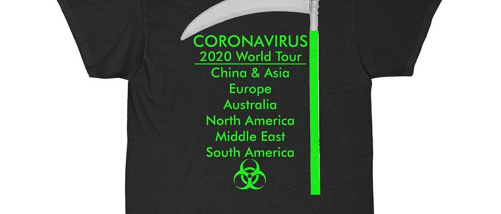 What if the Corona Virus was a METAL BAND Tour Shirt Short Sleeve Tee