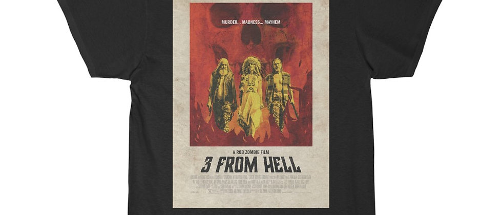 3 From Hell Poster Short Sleeve Tee