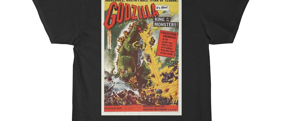 GODZILLA The Original Movie Poster Short Sleeve Tee