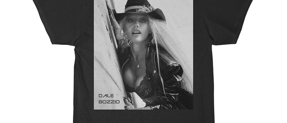 DALE BOZZIO of Missing Persons Men's Short Sleeve Tee