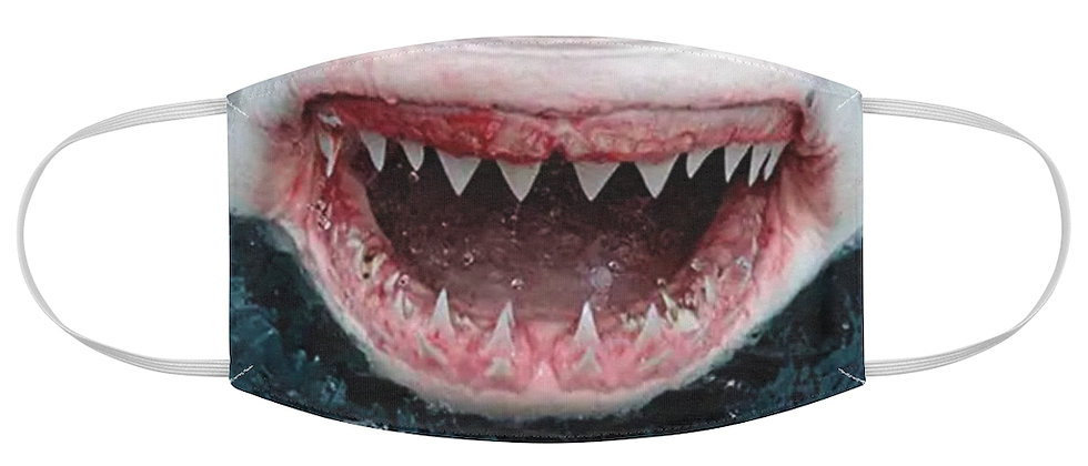 Shark Smile Fabric Face Mask