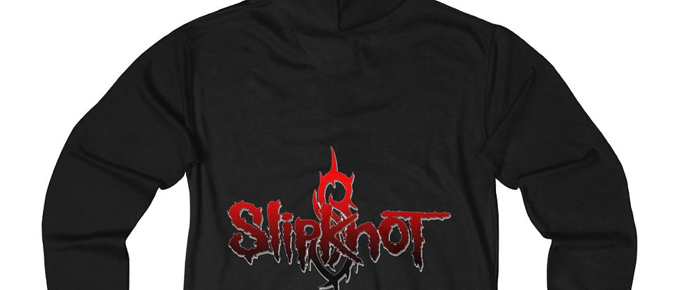 SLIPKNOT Unisex French Terry Zip Hoodie