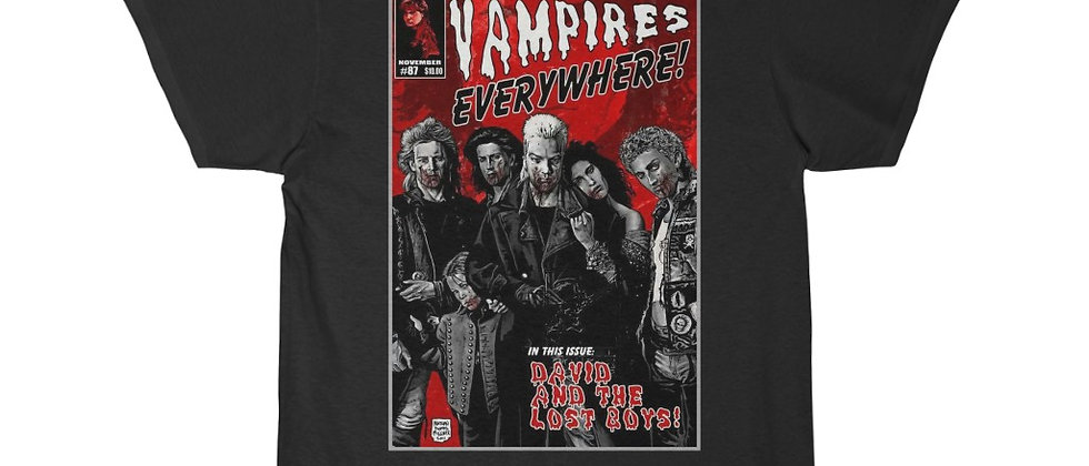cool shirts,cool movie shirts,The Lost Boys Vampires Everywhere