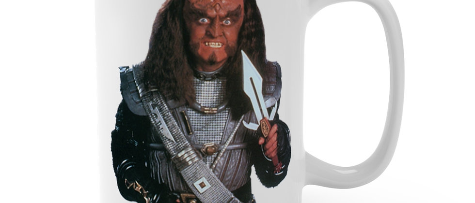Star Trek TNG Klingon Gowron Mug 15oz