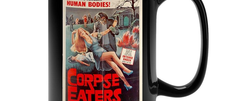 Corpse Eaters Poster  Black Mug 15oz