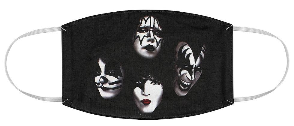 KISS Faces Fabric Face Mask