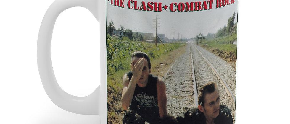 The Clash Combat Rock Mug 11oz