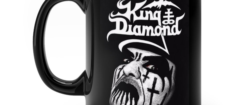 King Diamond   Black mug 11oz