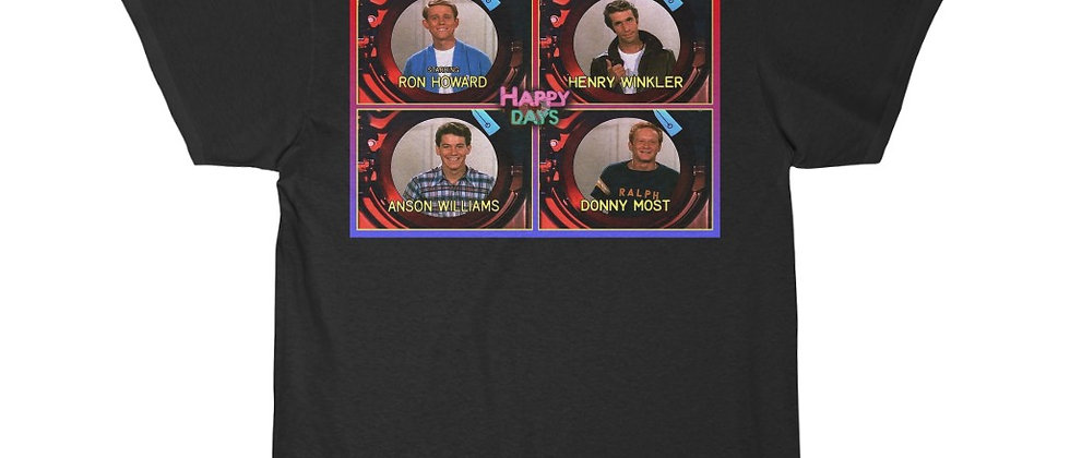 Happy Days cast Men's Short Sleeve Tee