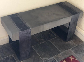 Cement Bench Top