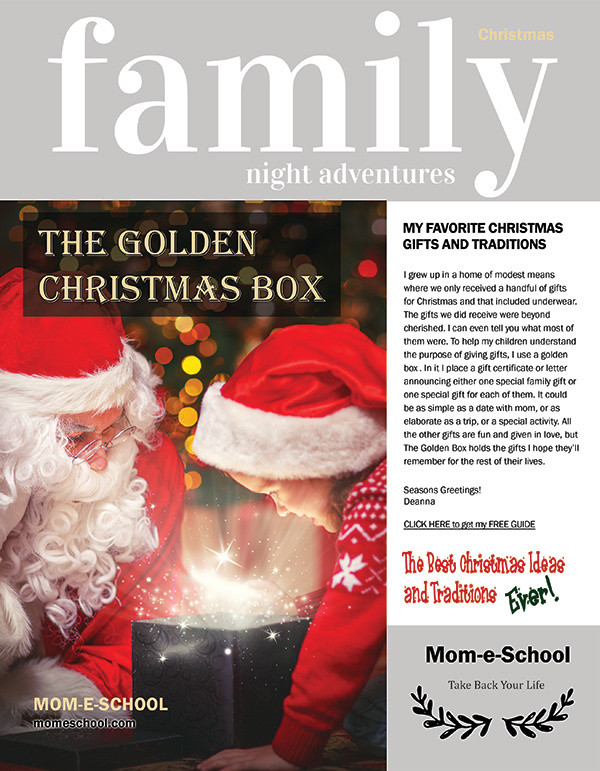 The Golden Christmas Box