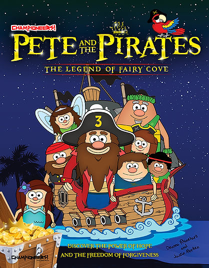 Pete and the Pirates Magazine Front_2_we