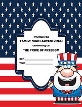 July - Family Night Adventures pages 16-