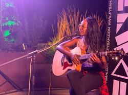 Fysah on guitar by Chamel