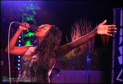 Fysah singing by #AlienAftermint