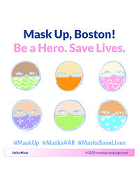 Mask Up Boston