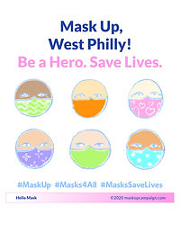 Mask Up West Philadelphia