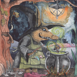 The Cauldron Witch