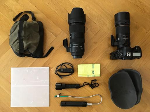 Pflanzenfotografie - 10 Dinge die in meiner Fototasche nicht fehlen dürfen!